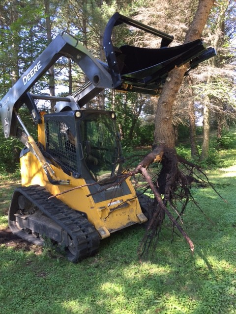 Tree and Post Puller – Grass View 4
