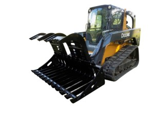Root Grapple - Skid Steer Attachment