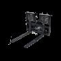 Hydraulic SLiding Pallet Forks 1 – Prime skid loader attachment