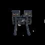Hydraulic SLiding Pallet Forks 2 – Prime skid loader attachment