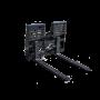Hydraulic SLiding Pallet Forks 3 – Prime skid loader attachment
